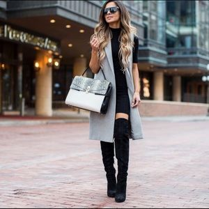 Nasty gal fold you over the knee boots